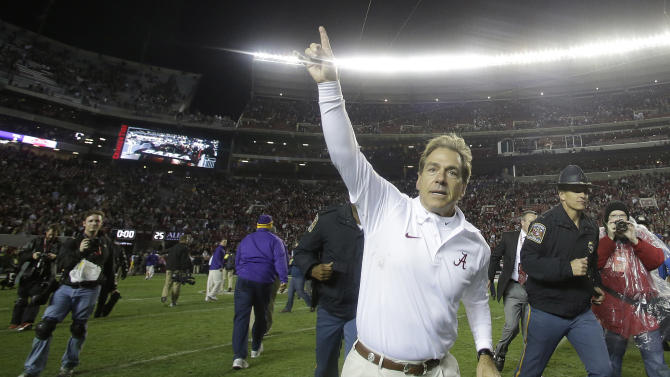 No. 1 Alabama trying to avoid 'relief syndrome'