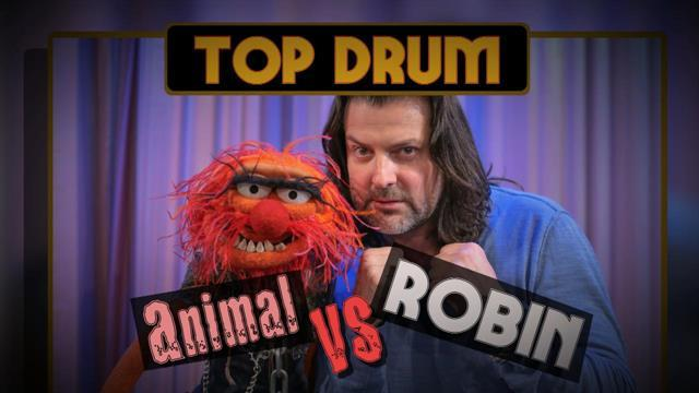 Robin DiMaggio & Animal Blow It Out In A No Holds Barred Drum Off