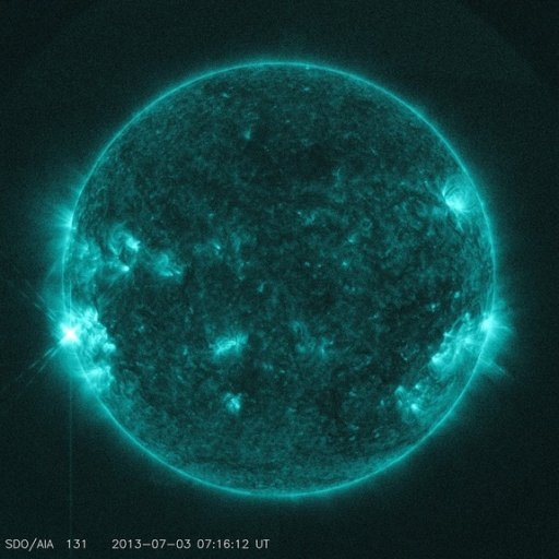 Sun Unleashes Solar Fireworks Preview for July Fourth