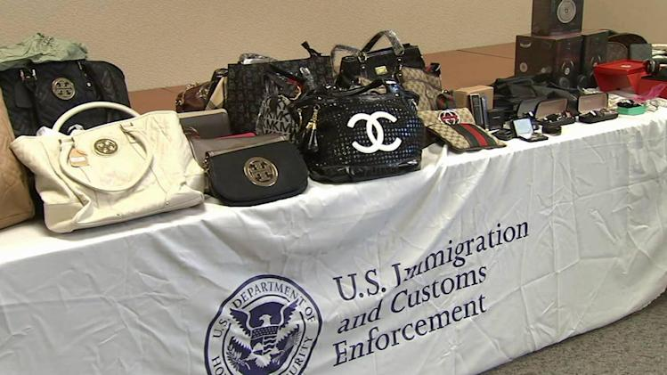 Homeland Security's raid nets millions in counterfeit goods