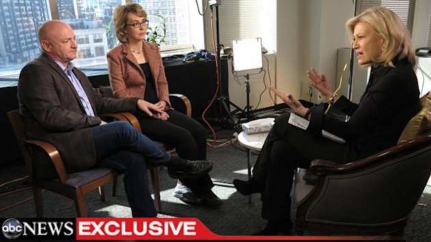 'World News' Anchor Diane Sawyer Amazed By Gabrielle Giffords' Resilience (ABC News)