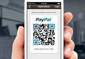 PayPal's Payment Code lets you purchase via QR code