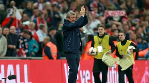 England manager Roy Hodgson is cautiously optimistic ahead of the World Cup next year