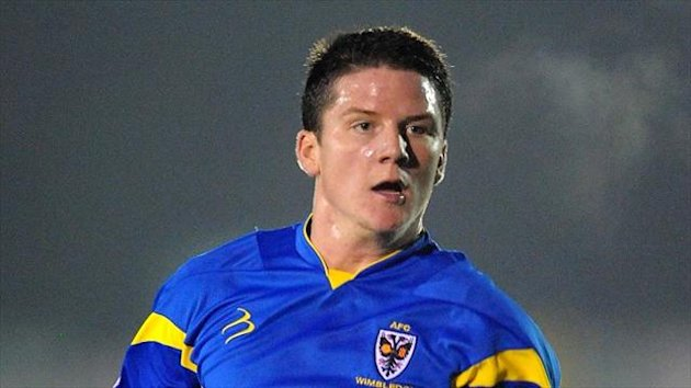 New Wycmbe signing Billy Knott had a loan spell at AFC Wimbledon last season