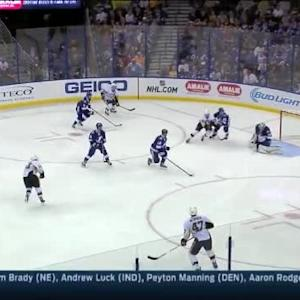 Andrei Vasilevskiy Save on Chris Kunitz (05:08/2nd)