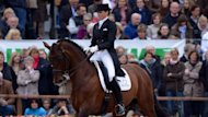 Lyndal Oatley and Sandro Boy who will represent Australia in dressage at the London Olympics