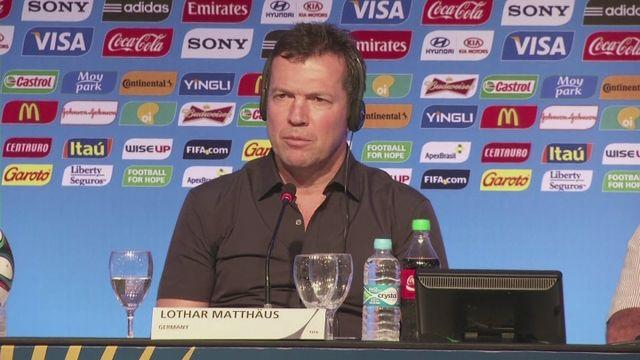 Matthaus wishes for German success in Brazil