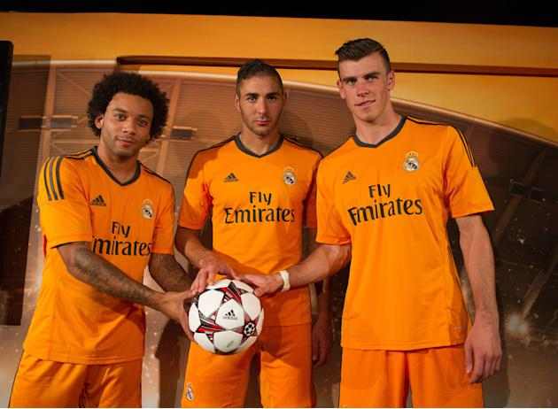 adidas Present the Real Madrid Champions League Kit