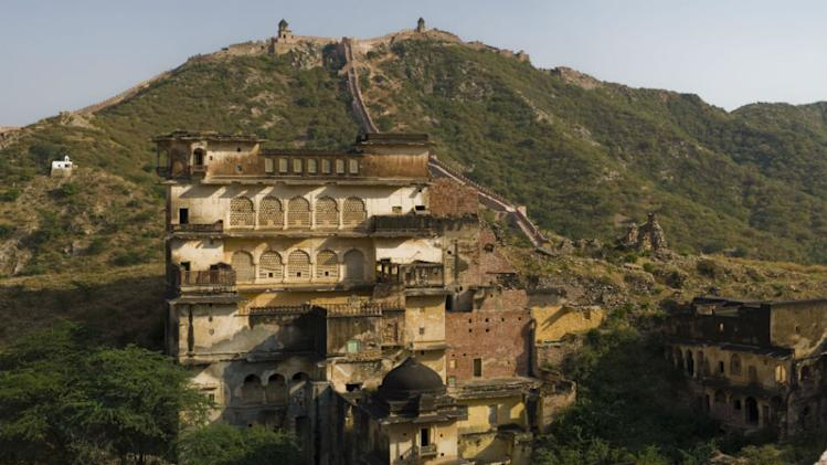 The Great Wall of Jaipur