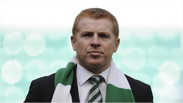 Football - Lennon savours Celtic title triumph