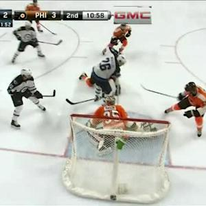Steve Mason Save on Mathieu Perreault (09:01/2nd)