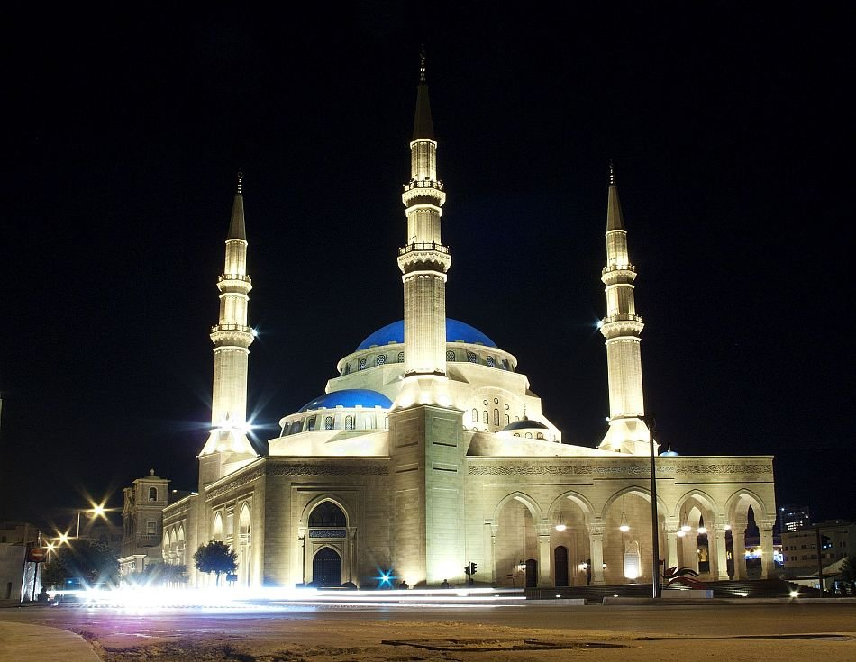 Mohammad al-Amin mosque in Beirut, Lebanon