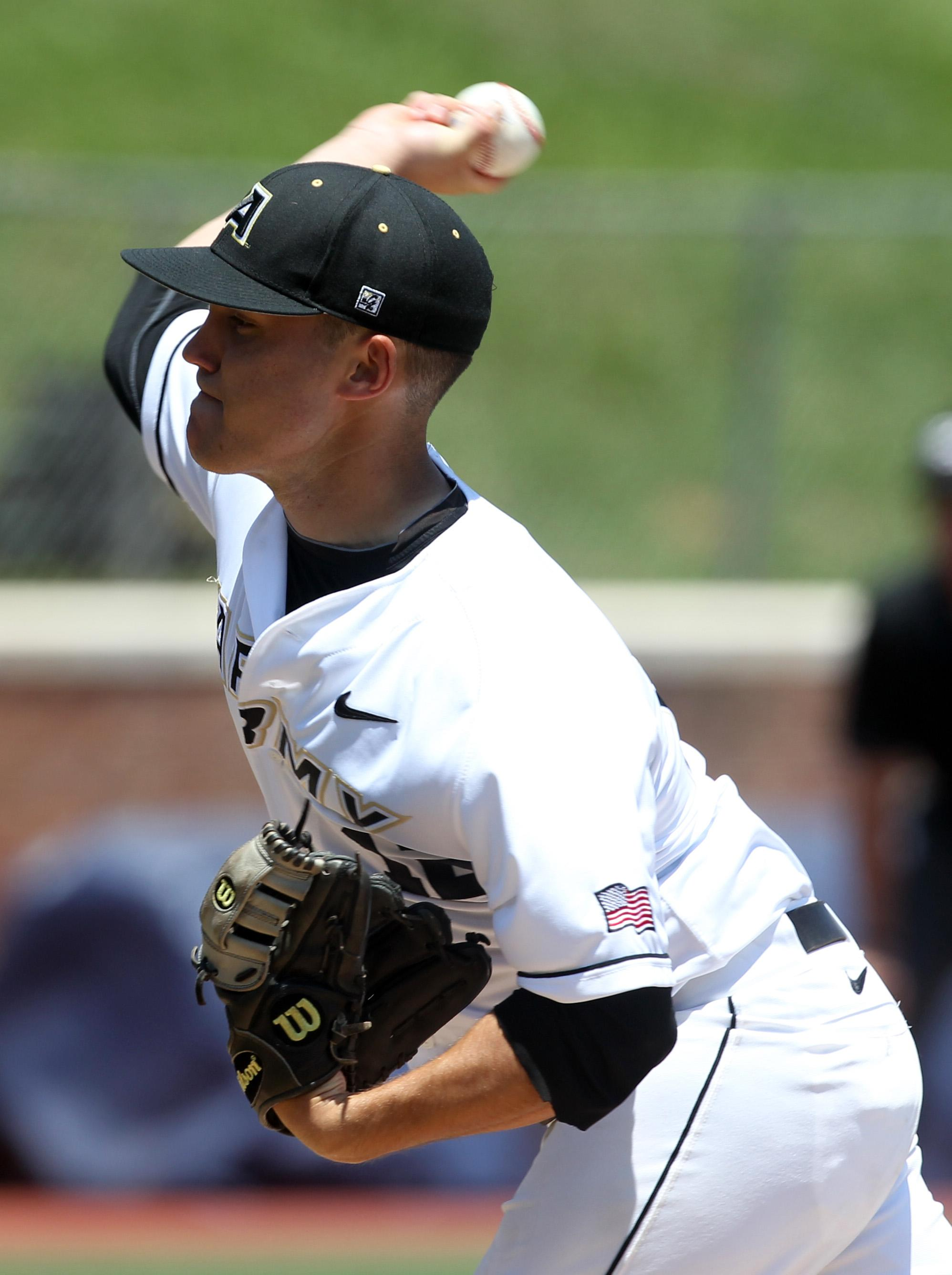 Army's ace surprised when told he struck out nation-best 21