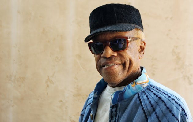"In this June 22, 2012 photo, musician Bobby Womack poses for a portrait in Los Angeles. With health and drug problems behind him, Womack makes his return with a new album, ""The Bravest Man in the Universe."" (Photo by Matt Sayles/Invision/AP)"