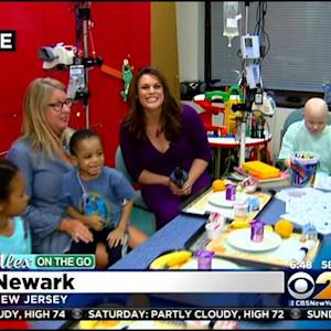Sesame Street Characters Visit Kids At NJ Children's Hospital