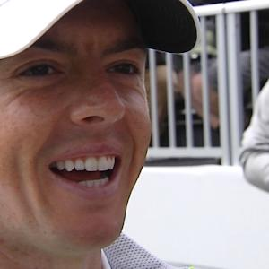 Rory McIlroy interview after the Round of 16 of Cadillac Match Play