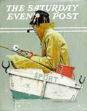 "This undated photo provided by Sotheby's in New York shows a Norman Rockwell painting, ""Sport,"" that was discovered missing from a Queens storage facility, according to the New York Police Department. The oil painting was sold from a private collector in Birmingham, Ala., at a Sotheby's auction in New York on May 22. Police didn't identify the owner. (AP Photo/Sotheby's)"