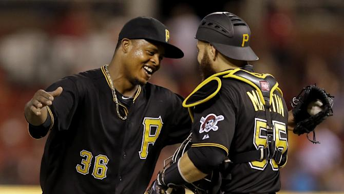 Volquez leads Pirates to 9-1 win over Cardinals