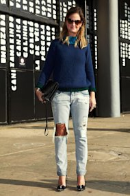 Style Hunter at Sao Paolo Fashion Wearing Zara and Santa Lolla!
