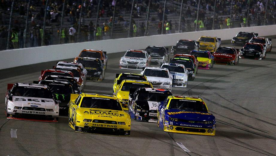 Follow the Nationwide race live with RaceBuddy