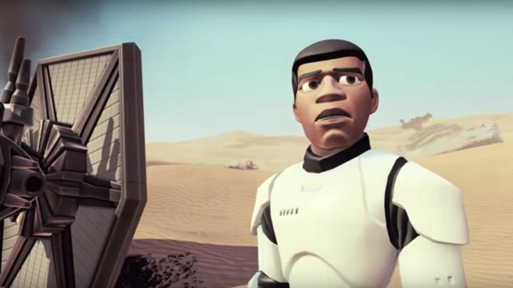 Star Wars: The Force Awakens trailer recreated for Disney Infinity promo