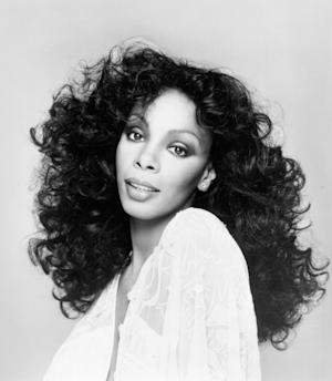 Queen of disco Donna Summer poses for a portrait in circa 1976 -- Getty Premium