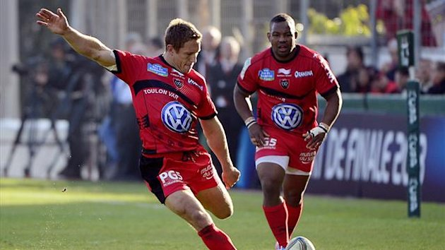 Toulon's English fly-half Jonny Wilkinson (AFP)