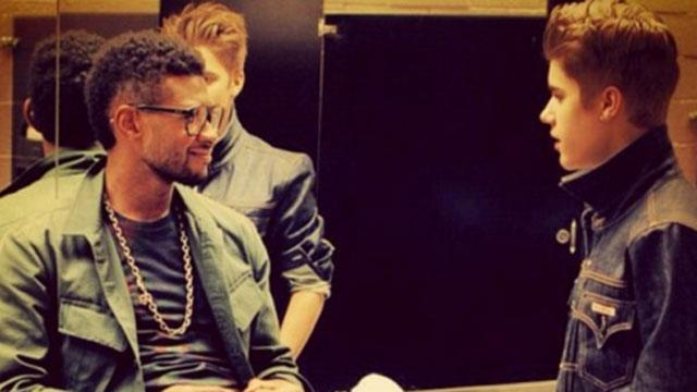 Usher On Bieber: 'I'm Hoping For the Best'