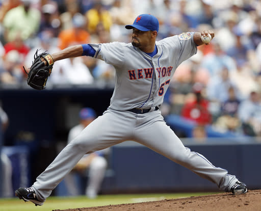Now with Blue Jays, Johan Santana aims for another comeback
