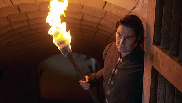 "Nathaniel Parker stars as Agravaine in ""Merlin."""