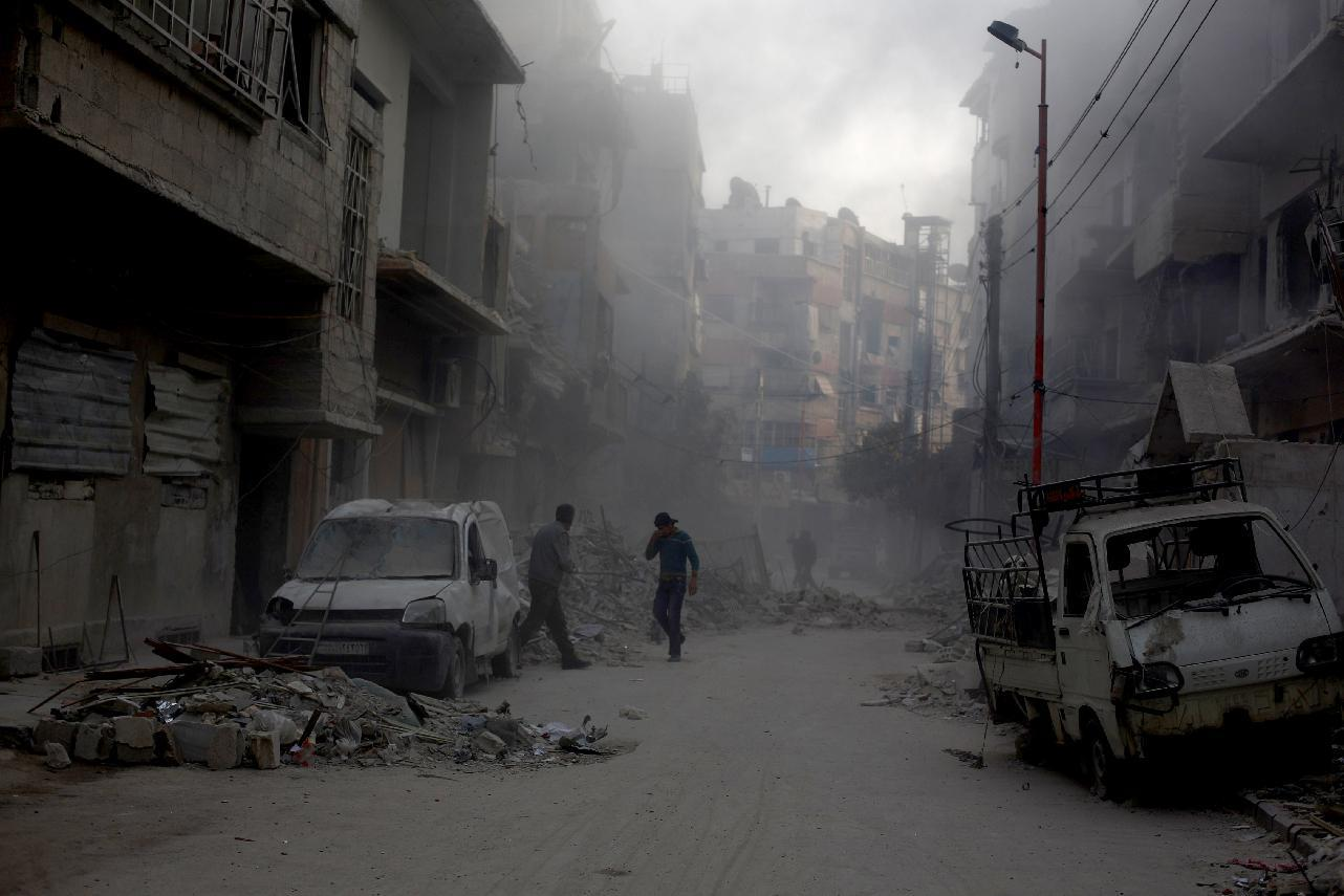 7 killed as rockets rain down on Syrian capital: monitor