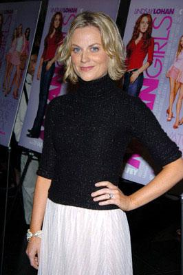 Amy Poehler at the New York premiere of Paramount's Mean Girls