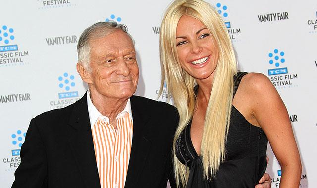 Report: Hefner Engaged to Crystal Harris Again