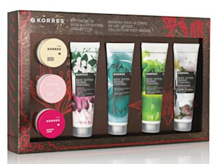 Korres Butter Me Up Body & Lip Butter Collection