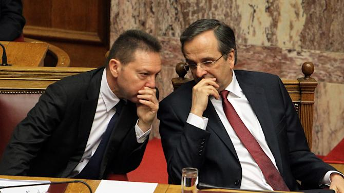Euro finance ministers to discuss Greece's future