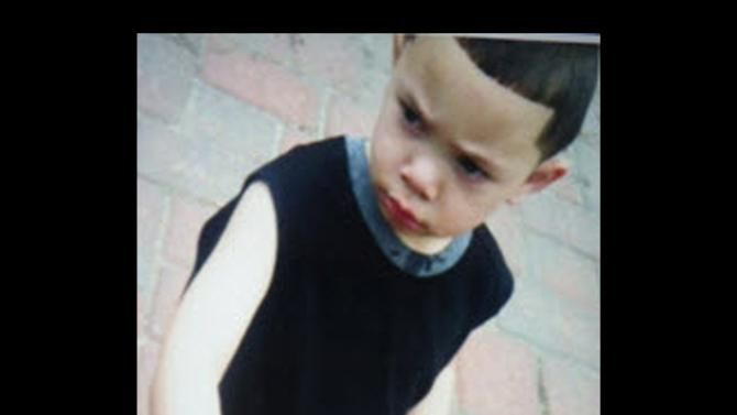 This undated photo released by the Rhode Island State Police through the Amber Alert website shows two-year-old Isaiah Perez. Perez was kidnapped from a Rhode Island home where police made an early morning discovery of two bodies was found Sunday Aug. 11, 2013 wandering around a housing project in Providence, police said. He was unharmed. Johnston Deputy Police Chief Daniel Parrillo told The Associated Press that a patrolman in Providence spotted Isaiah Perez walking around the Chad Brown housing project by himself around 8:15 p.m. The toddler was evaluated at Hasbro Children's Hospital and has no injuries, he said. (AP Photo)