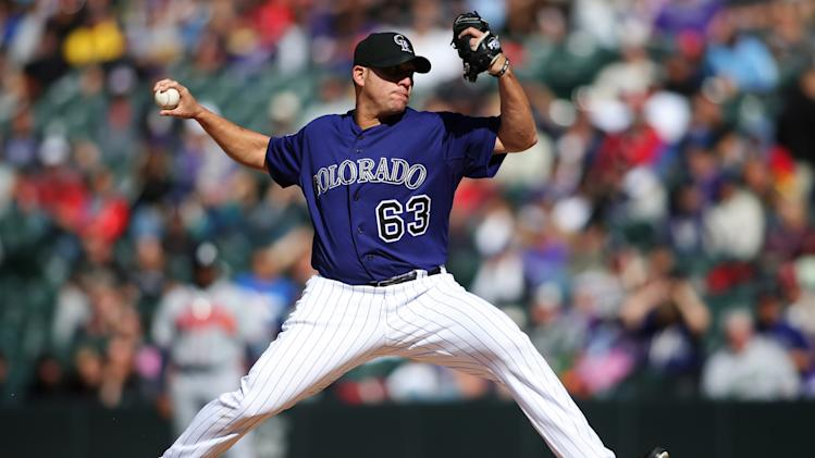MLB: Atlanta Braves at Colorado Rockies