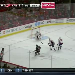Braden Holtby Save on Alexander Semin (10:41/3rd)