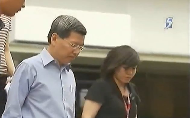 <p>Ex-SCDF chief, Peter Lim, claims trial to the corruption charges against him. (YouTube screengrab) </p>