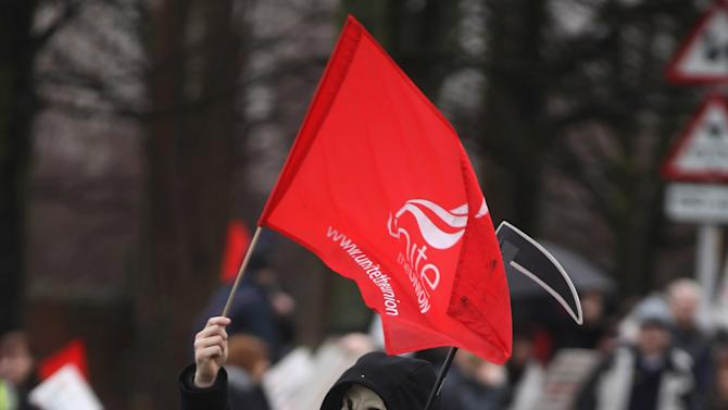 Workers At Unilever Strike Over Pensions