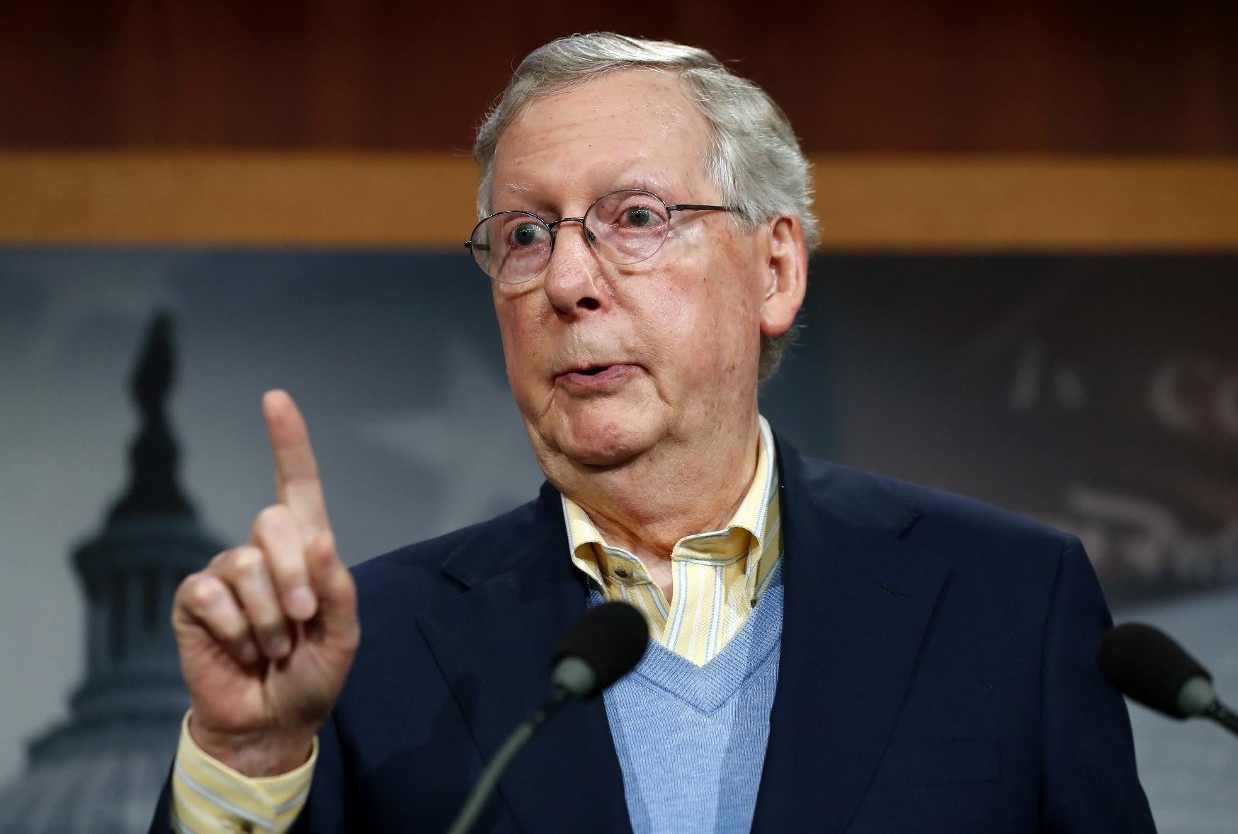 McConnell cautions replacement to health law to take time