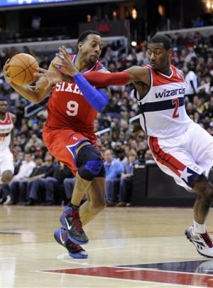 76ers beat Wizards for second straight night
