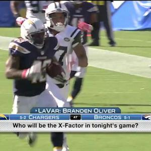 X-Factor: San Diego Chargers vs. Denver Broncos