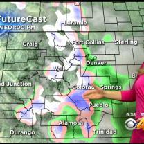 Wednesday's Forecast: Cooler With Rain & Snow