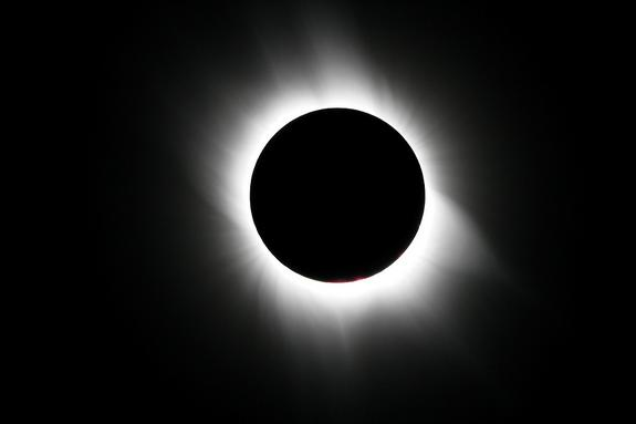 Total Solar Eclipse Explained: Stages of Today's Sun-Moon Alignment