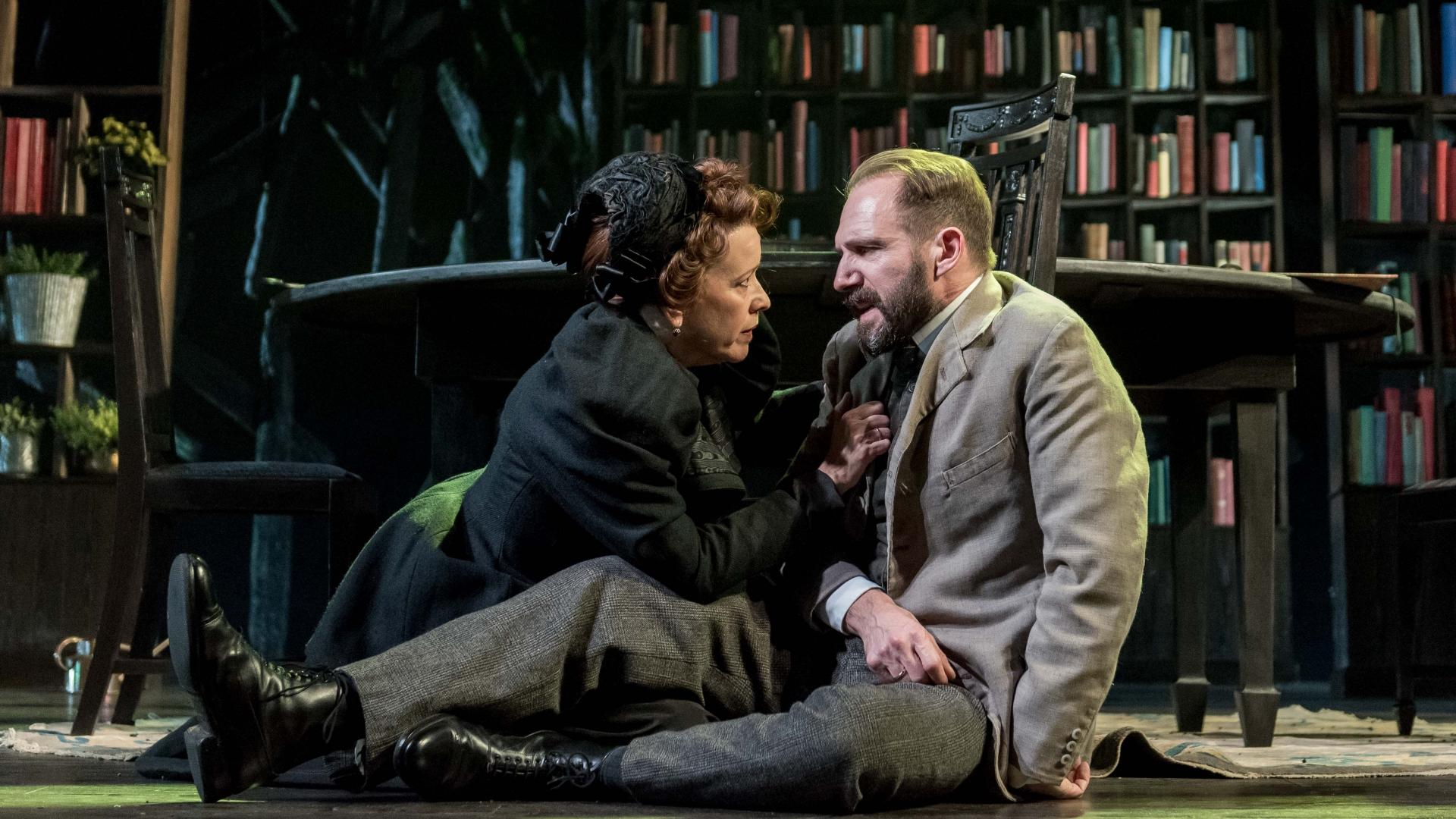 London Theater Review: Ralph Fiennes in 'The Master Builder'