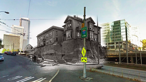 Curbed Cuts: Seattle Then and Now; Bob Hope's Blue Ridge Hangout Is for Sale