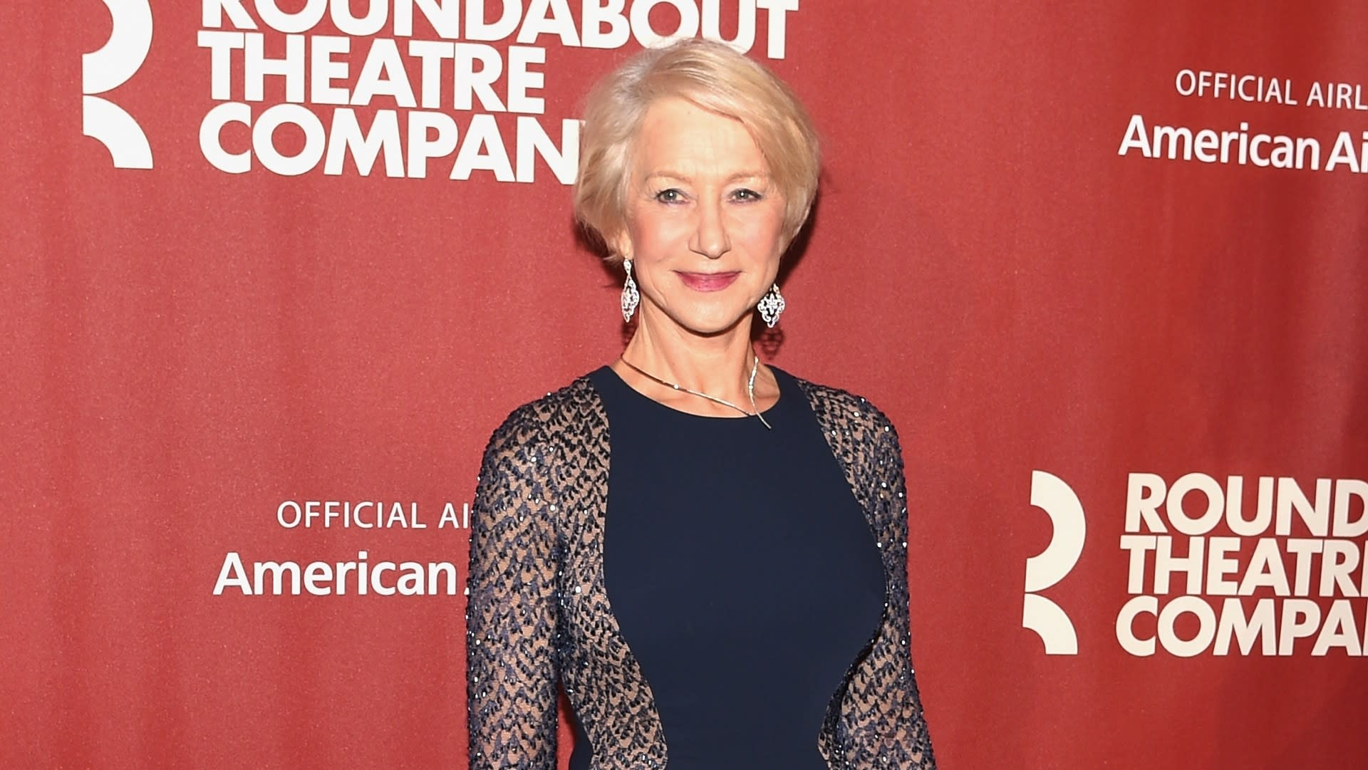 Helen Mirren Can't Sing, Gets an Award Anyway at Roundabout Theater Company Gala