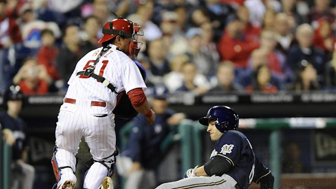 Brewers top Phils for 6th straight win