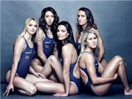 British Gas Olympic swimmers